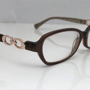 Coach Women Eyeglasses Frame Vanessa HC6017 Brown